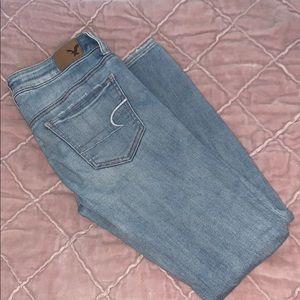 American Eagle Super Super Stretch Light Jeans
